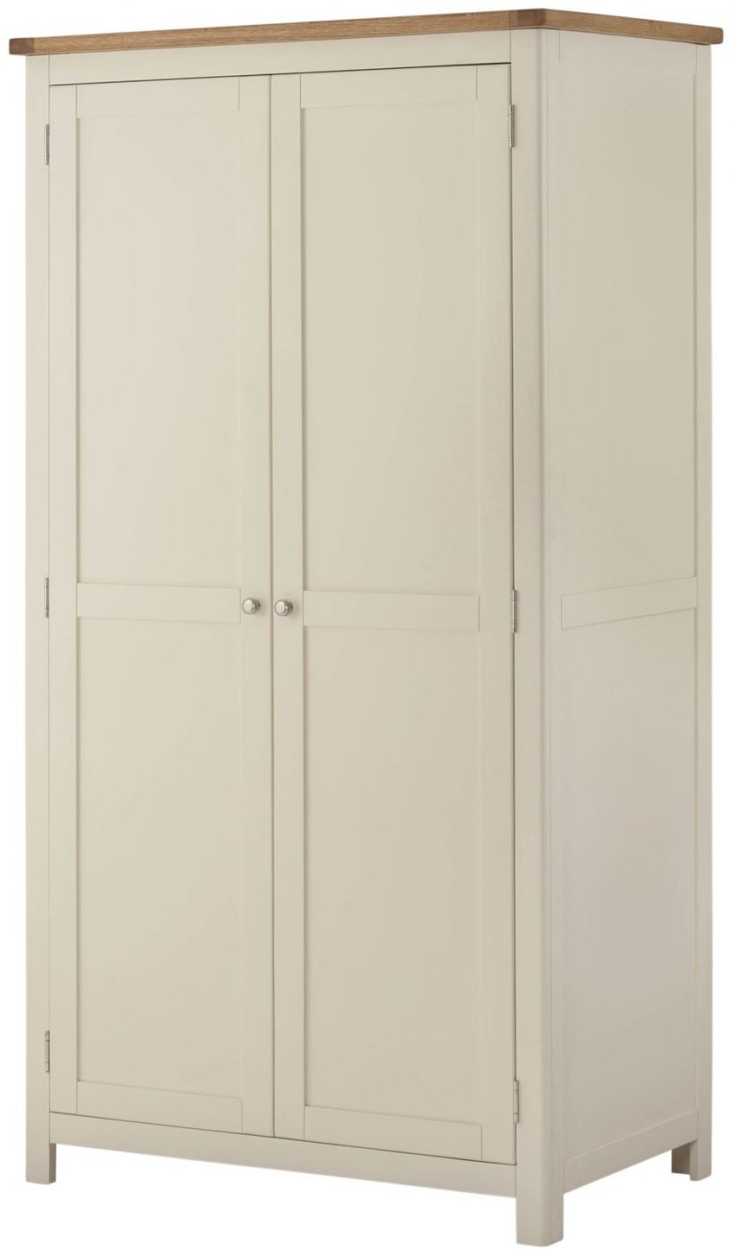 Excellent Portland Cream Painted Single Wardrobe Bedroom Furniture Download Free Architecture Designs Crovemadebymaigaardcom