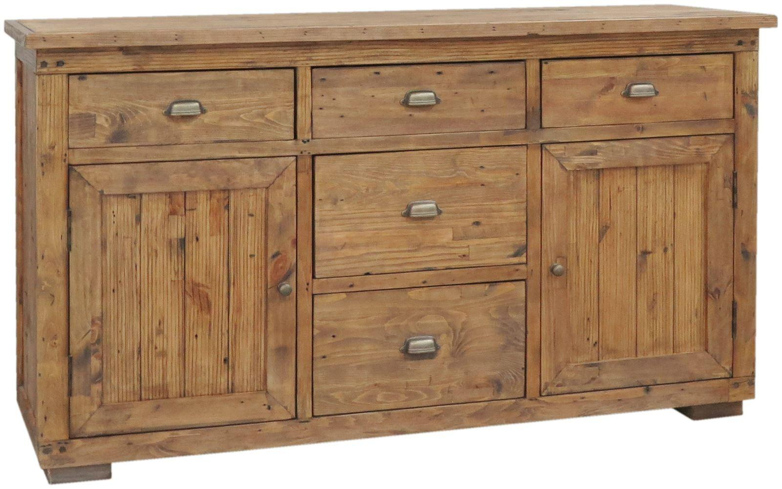 Camrose large sideboard dining room classic essentials for Reclaimed wood furniture colorado