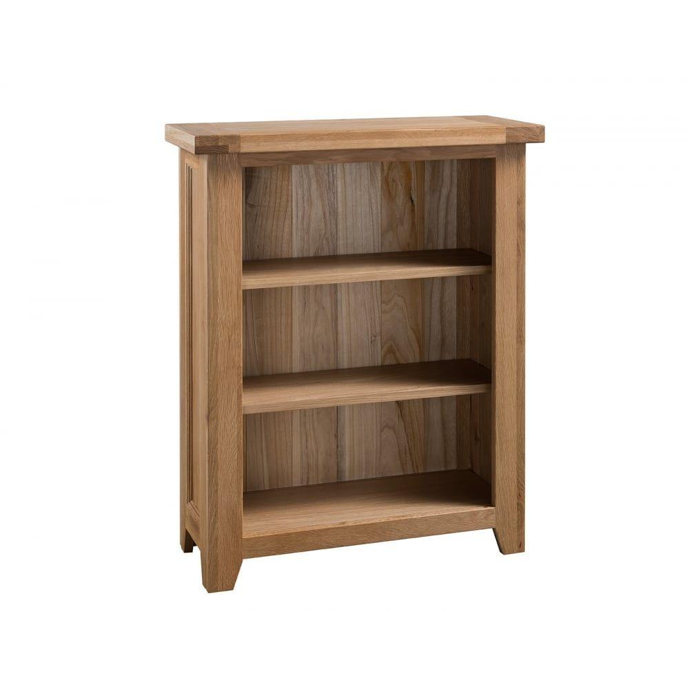 Colorado Oak Small Bookcase: Dining Room
