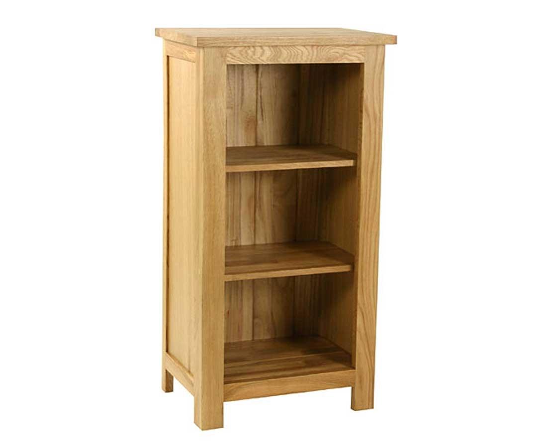 Essentials Oak Mini Bookcase