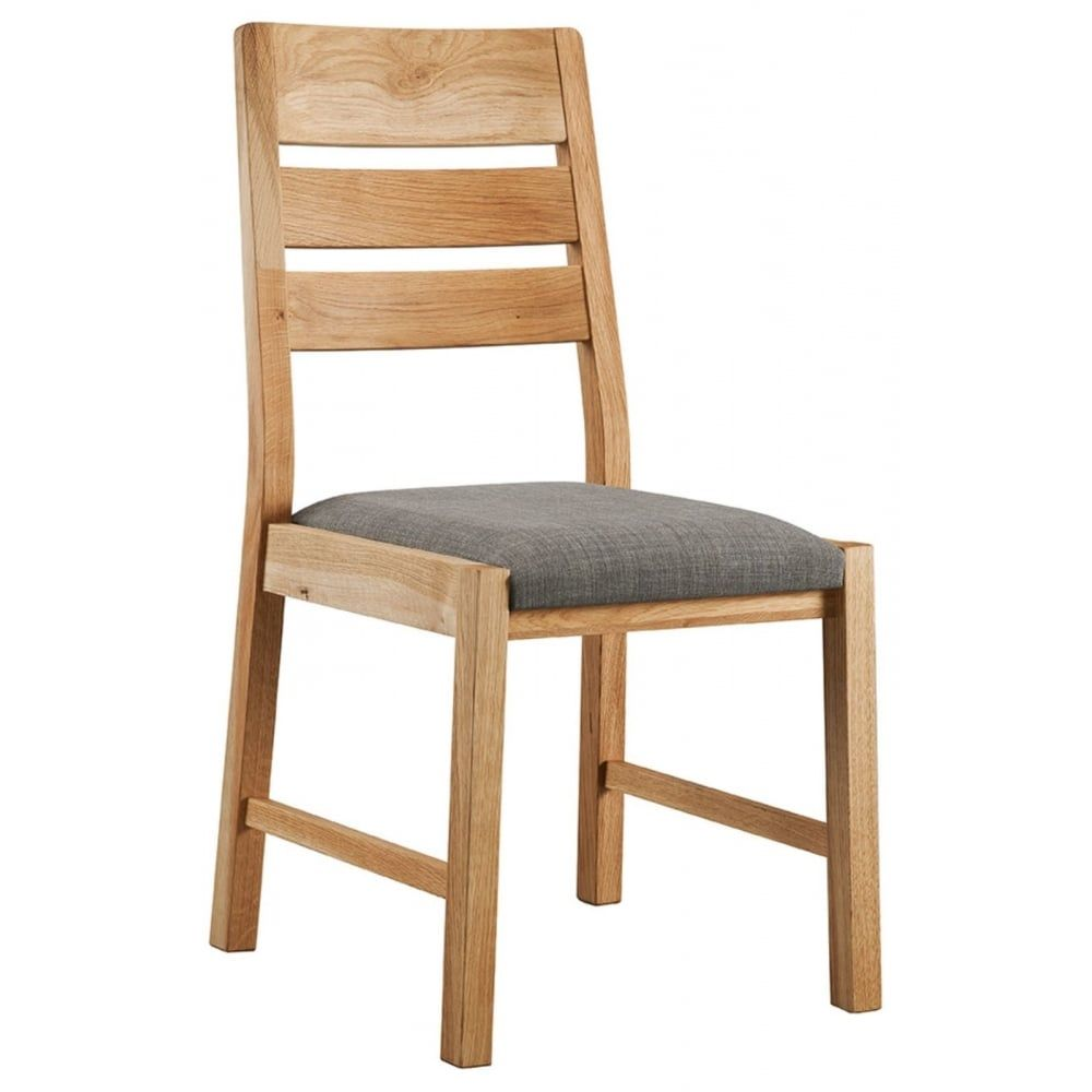 Oslo Oak Dining Chair (Pair): Dining Room | Living Room ...