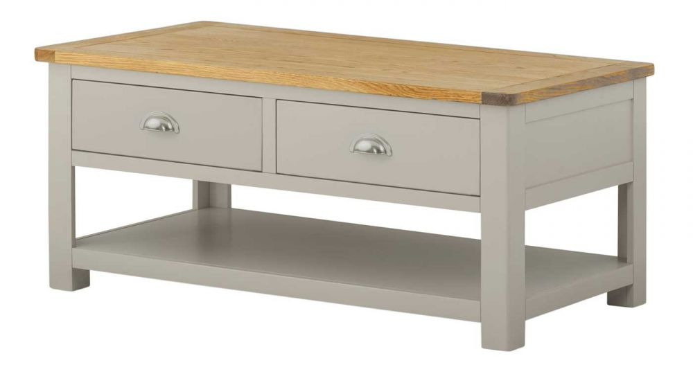 Portland Coffee Table with Drawers Dining Room Portland  : 2 drw coffee table from robinsonsinteriors.co.uk size 1000 x 540 jpeg 33kB