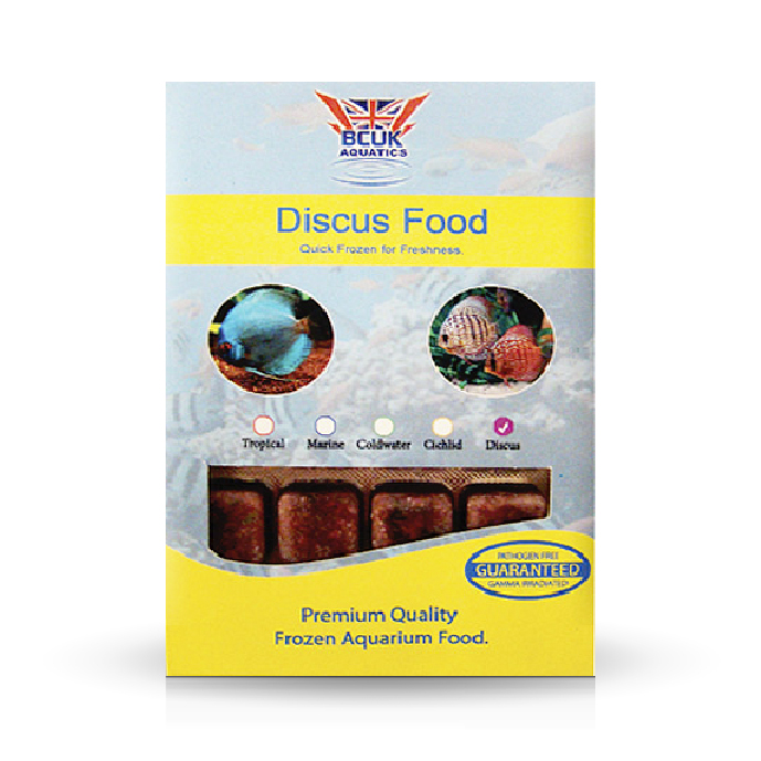Discus food frozen fish food fresh water only bcuk for Discus fish food
