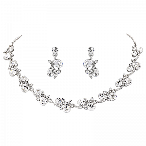 Crystal Shimmer Jewellery Set
