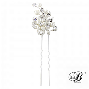 Crystal Luxe Bridal Hair Pins - Set of 3