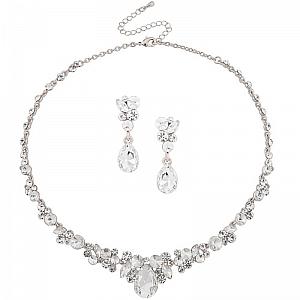 Crystal Enchantment Bridal Jewellery Set