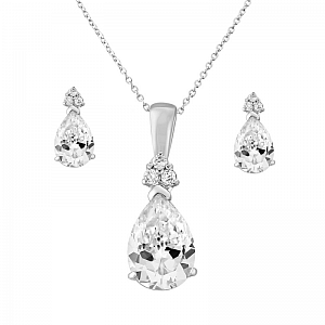 Crystal & Diamante Jewellery Set
