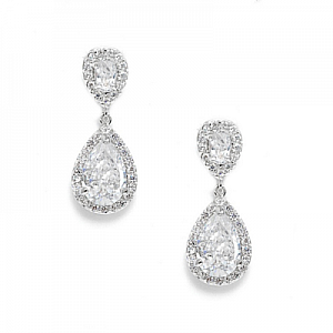 Crystal & Diamante Drop Earrings