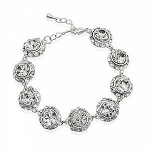 Vintage Crystal Bracelet