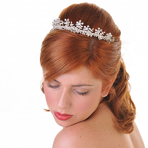 Crystal & Diamante Tiara