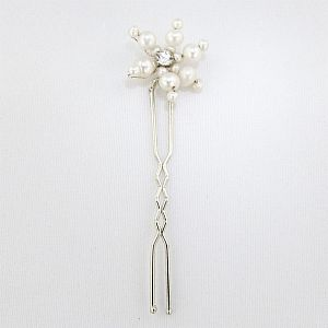 Freshwater Pearl Bridal Hair Pins - Set of 5 (Only £8 each)!