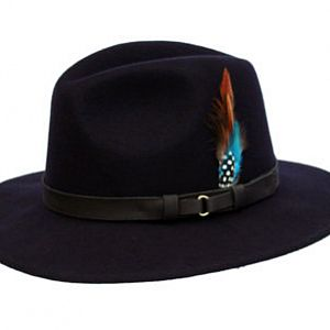 Wool Felt Ranger Hat - Navy