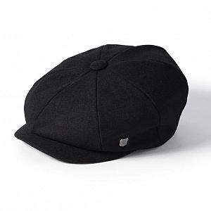 Alfie Melton 8 Piece Cap - Black