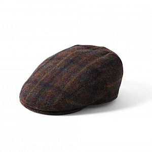Harris Tweed Stornoway Cap - Brown