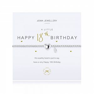 Joma Bracelet - Happy 18th Birthday