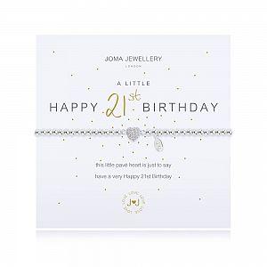 Joma Bracelet - Happy 21st Birthday