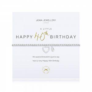 Joma Bracelet - Happy 40th Birthday