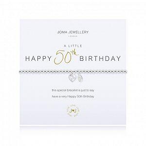 Joma Bracelet - Happy 50th Birthday