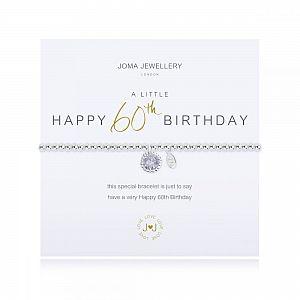 Joma Bracelet - Happy 60th Birthday