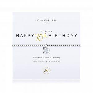 Joma Bracelet -  Happy 70th Birthday