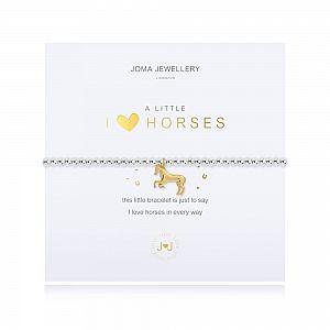 Joma Bracelet -  I Love Horses