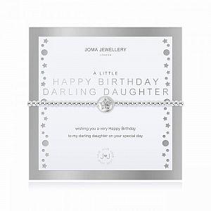 Joma Bracelet -  Happy Birthday Darling Daughter