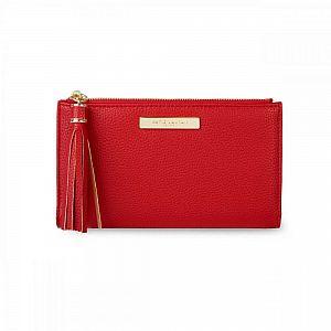 Katie Loxton Sophia Tassel Fold Out Purse - Red