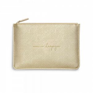 Katie Loxton Perfect Pouch - Sparkle Like Champagne