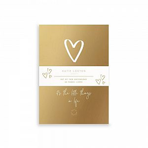 Katie Loxton Small Duo Pack Notebooks - It's the Little Things in Life