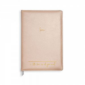 Katie Loxton A5 Notebook - A Little Love Is All You Need