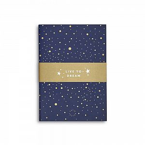 Katie Loxton Small Duo Pack Notebooks - Live to Dream