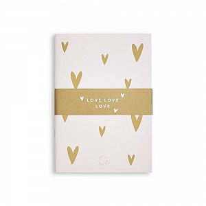 Katie Loxton Small Duo Pack Notebooks - Love Love Love