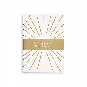 Katie Loxton Small Duo Pack Notebooks - Choose to Shine