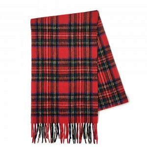 100% Cashmere Scarf - Official Royal Stewart