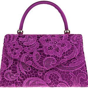 Lace Handle Bag
