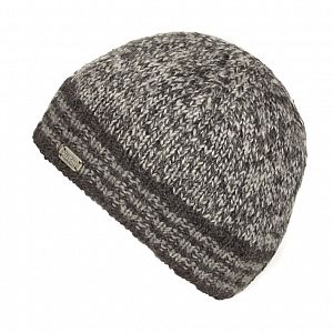 KuSan Hi Rib Unisex Fleece Lined Beanie - Charcoal