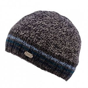 KuSan Hi Rib Unisex Fleece Lined Beanie - Blue