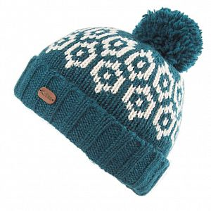 KuSan Fleece Lined Unisex Bobble Hat - Petrol