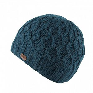 KuSan Fleece Lined Unisex Beanie Hat - Teal