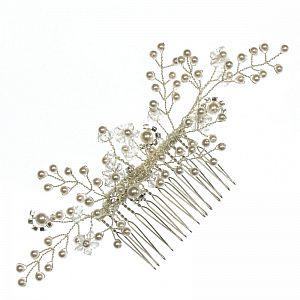 Pearl Wildflower Hair Comb