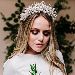 Everlasting Pearl Bridal Tiara