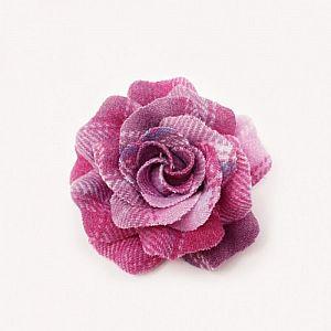 Bonnie Tweed Rose Corsage - Pink Lemonade