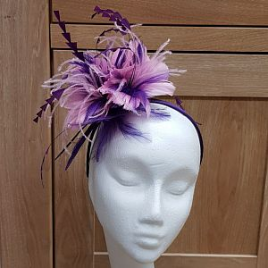 Purple & Pink Fascinator