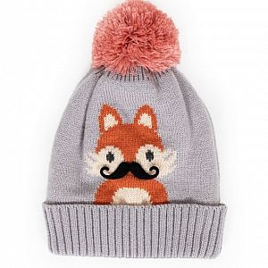 Cosy Kids Fox Hat - Age 2-6 Years