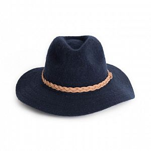 Powder Katie Fedora Hat - Navy