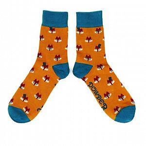 Men's Fox Bamboo Socks