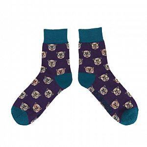 Men's Westie Dog Bamboo Socks