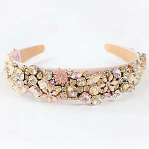 Designer Jewelled Headband - Lottie