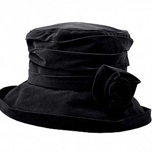 Proppa Toppa Waterproof Velour Packable Hat - Black