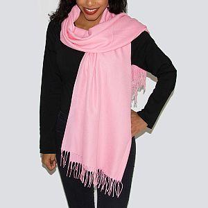 Super Soft Classic Italian Pink Lady Pashmina